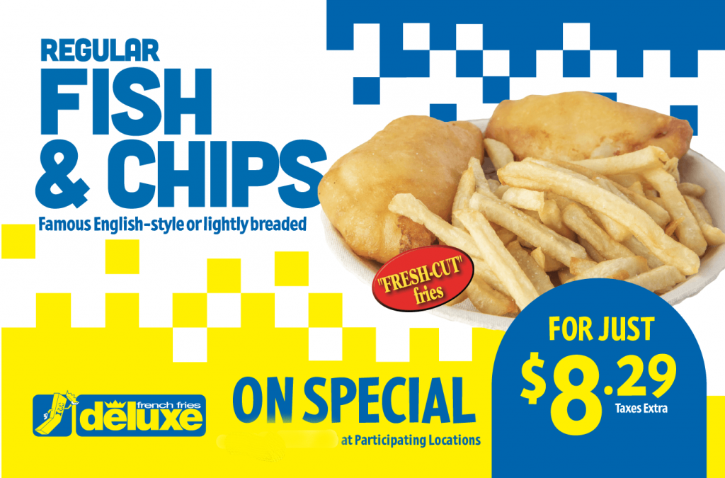 Fish & Chips special May2021